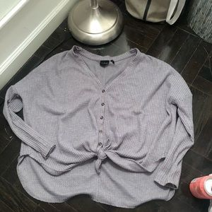 Urban outfitters tie thermal xs